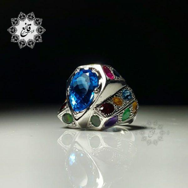 انگشتر اسپرت جواهر نشان
