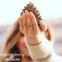 انگشتر زنانه گلی